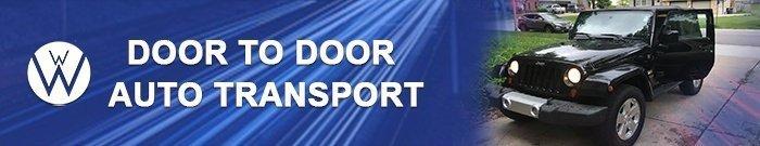 door to door auto transport, we will transport it